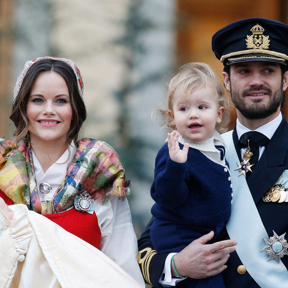 Carl Philip und Sofia erwarten Baby
