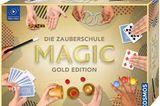 Zauberei fasziniert uns alle. Aber was steckt hinter den Tricks? Mit der Zauberschule wird vielleicht der Beginn einer großen Magier-Karriere gestartet und falls nicht, verspricht es trotzdem jede Menge Spaß.  Zauberschule von Kosmos für rund 30 €.