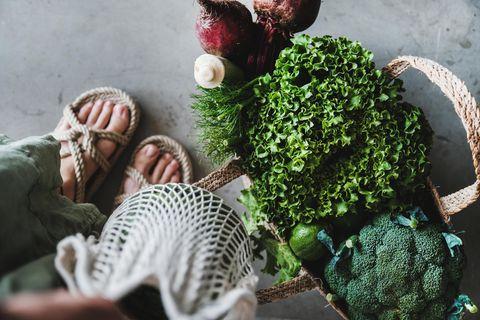 Anne Fleck: Gemüse in Tasche