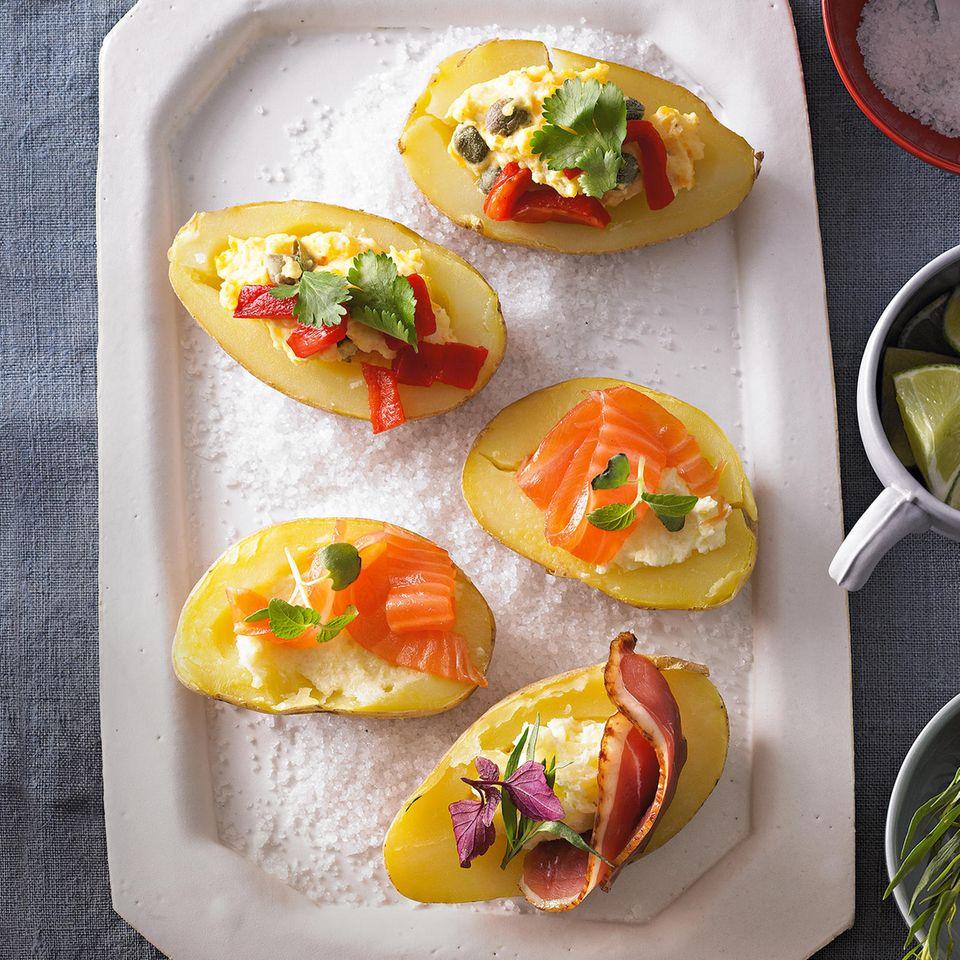 Kartoffel-Canapés