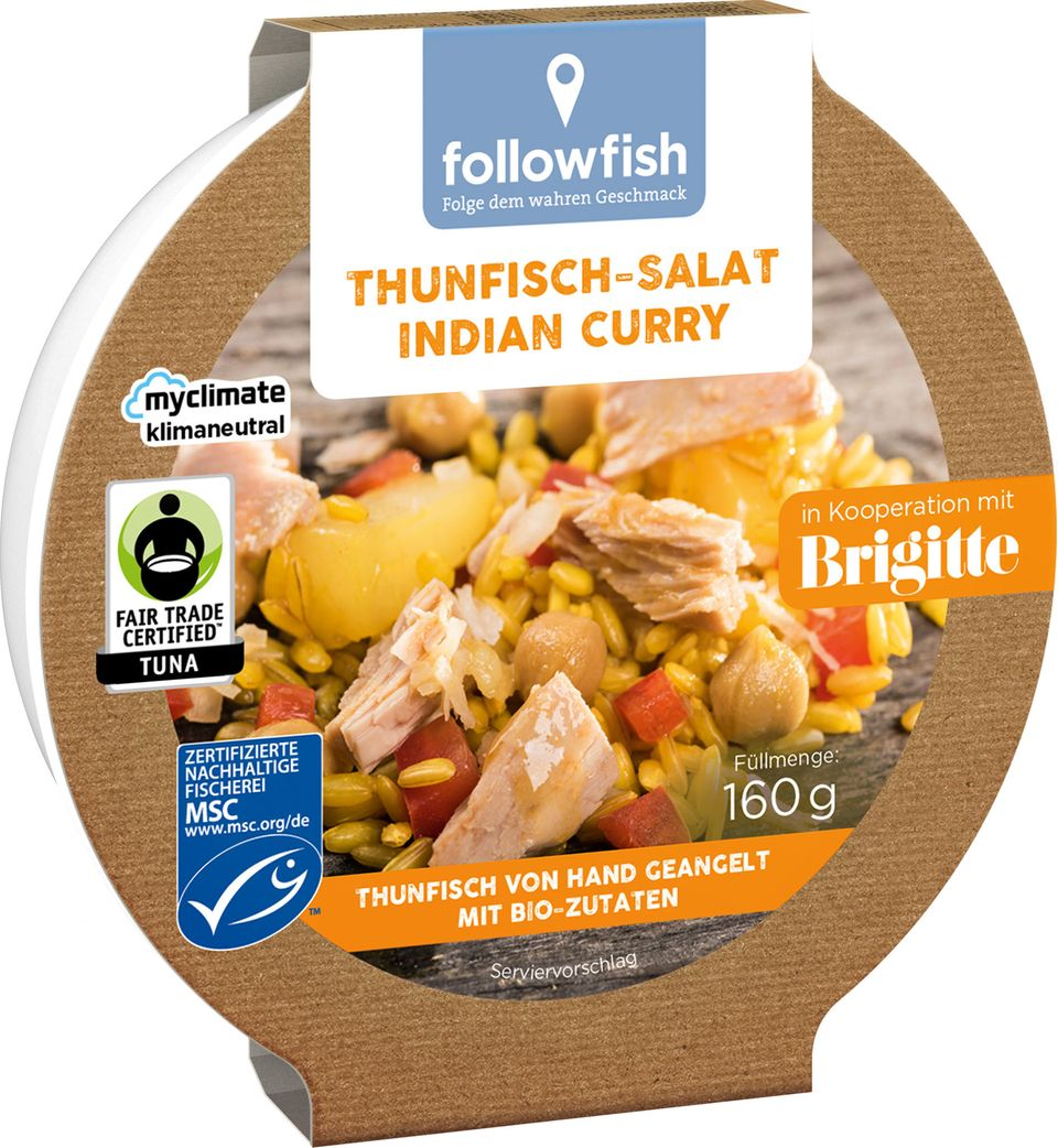Brigitte Balance 2021 Produkte: Thunfischsalat