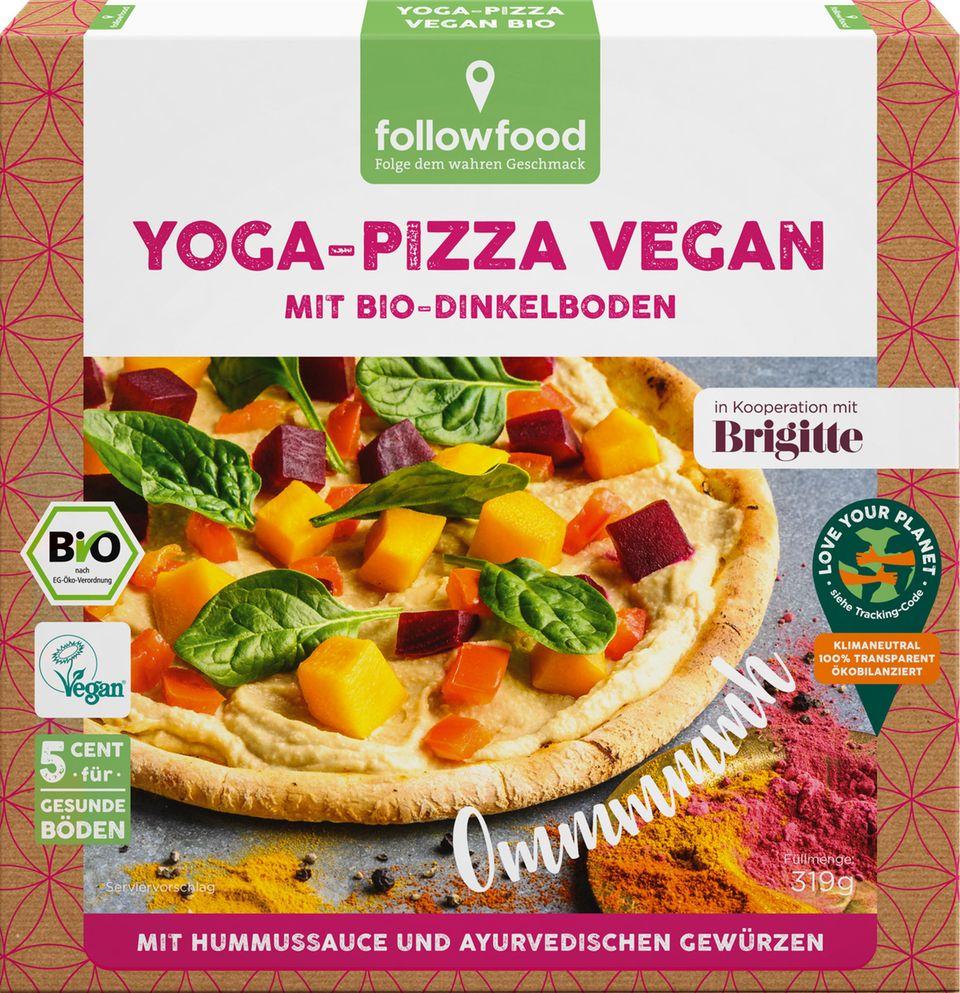 Brigitte Balance 2021 Produkte Pizza