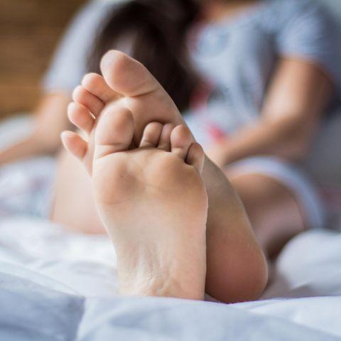 Schöne Füße ab 40: Füße einer Frau
