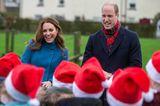 Weihnachten bei den Windsors: Herzogin Kate und Prinz William