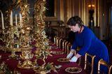 Weihnachten bei den Windsors: königlicher Speisesaal in Schloss Windsor