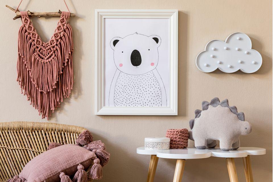 Kinderzimmer gestalten: Wanddeko