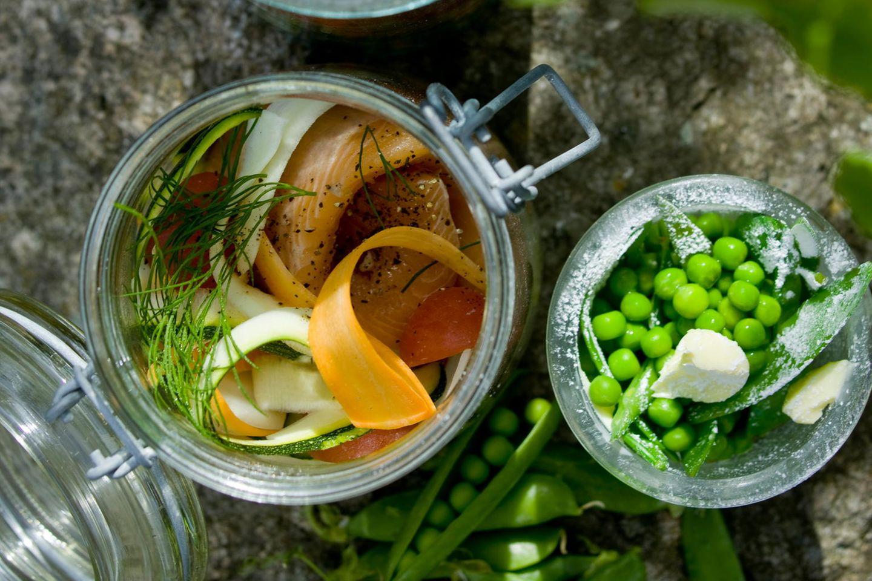 Gemüsegerichte: Kräutergemüse