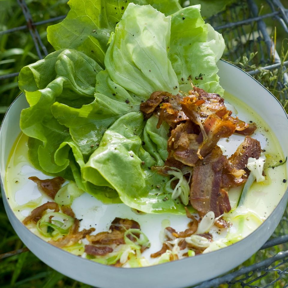Pancetta-Salat
