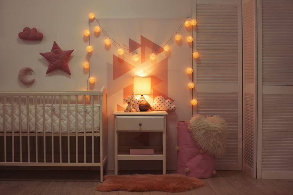 Kinderzimmer gestalten: Lichterkette