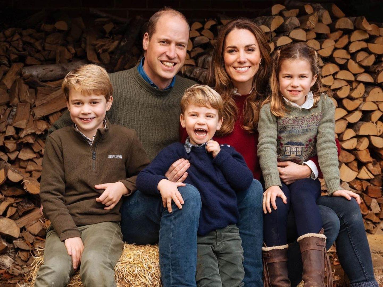 Royale Kinderfotos: Familie Cambridge