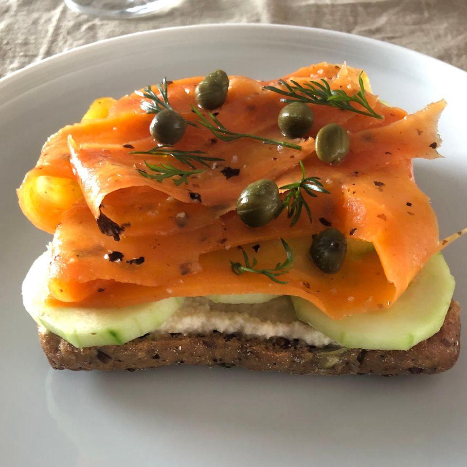 Veganer Lachs: Karottenlachs