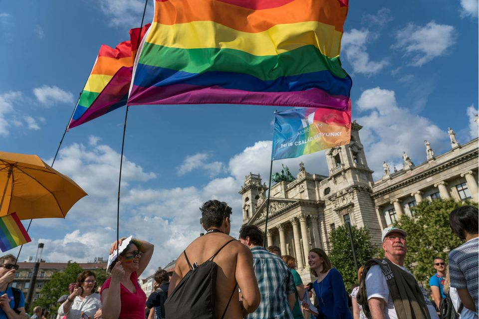 Ungarn: LGTBQ-Demo