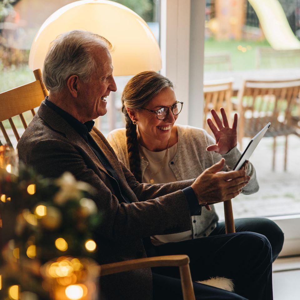Weihnachten 2020: Großeltern am IPas