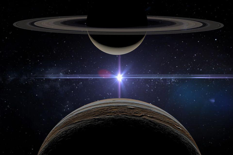 Jupiter-Saturn-Konjungtion