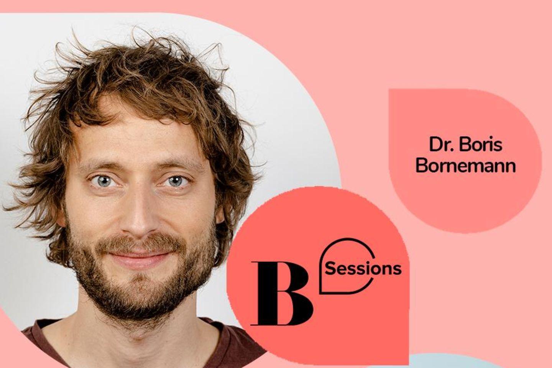 Dr. Boris Borenemann spricht in unserer Health-Session über das Thema Gelassenheit.
