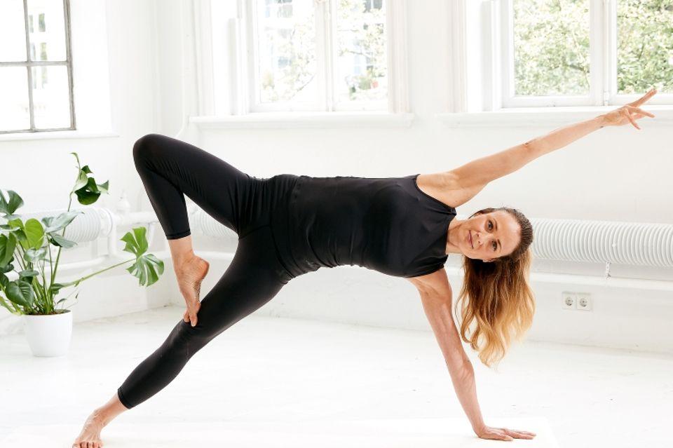 Gewicht halten: Side-Plank-Variationen