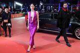 Promikleider: Lena Meyer Landrut im pinken Kleid
