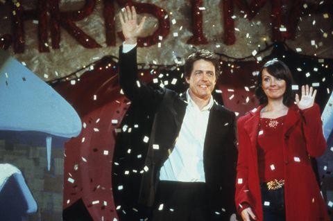 """""""Tatsächlich Liebe""""-Stars: Hugh Grant und Martine McCutcheon"""