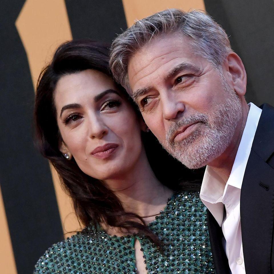 """George Clooney: """"Diesen Streich habe ich meinen Kindern beigebracht""""."""