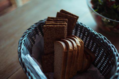 Rückruf: Brot im Korb