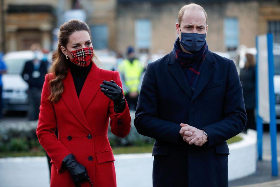 Royals: Sitzen Prinz William, Herzogin Catherine und die Kinder fest?