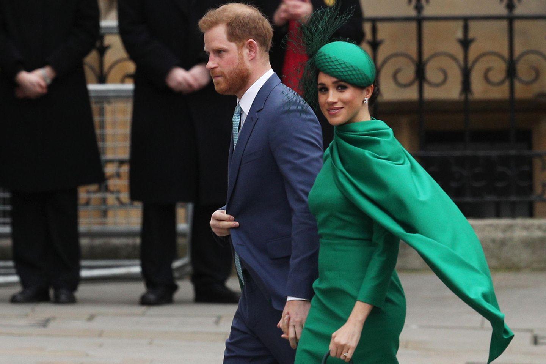 Prinz Harry + Herzogin Meghan: Sie wollen im April nach London reisen