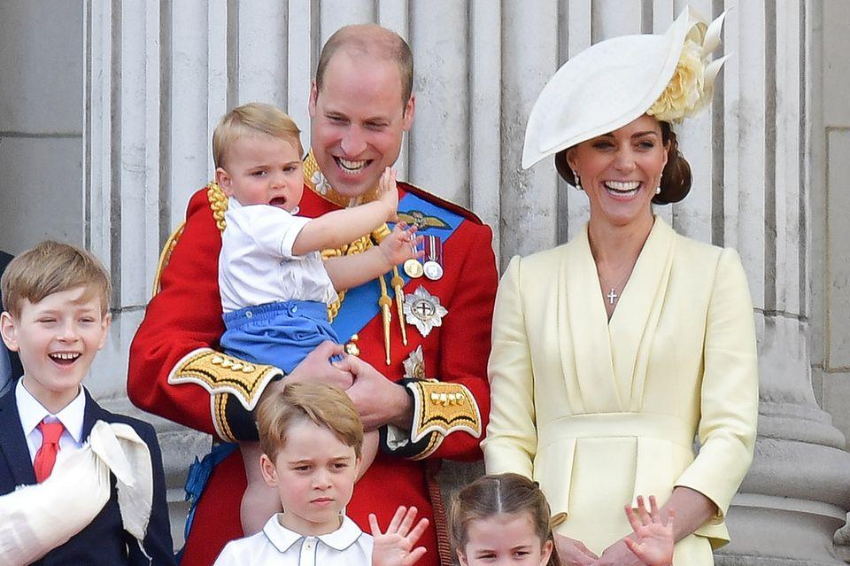 Herzogin Catherine + Prinz William: Fotos ihrer Kinder begeistern Fans