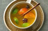 Mandarinen-Glühsaft