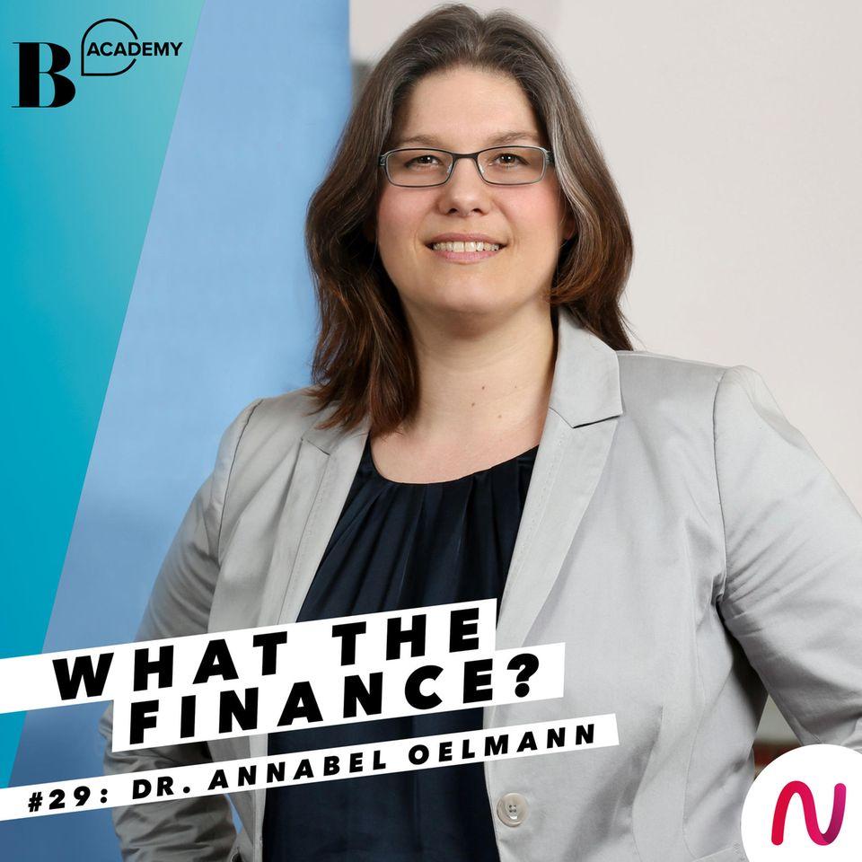 What The Finance? Annabel Oelmann