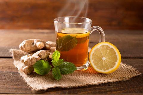 Tee für Fettverbrennung: Ingwertee