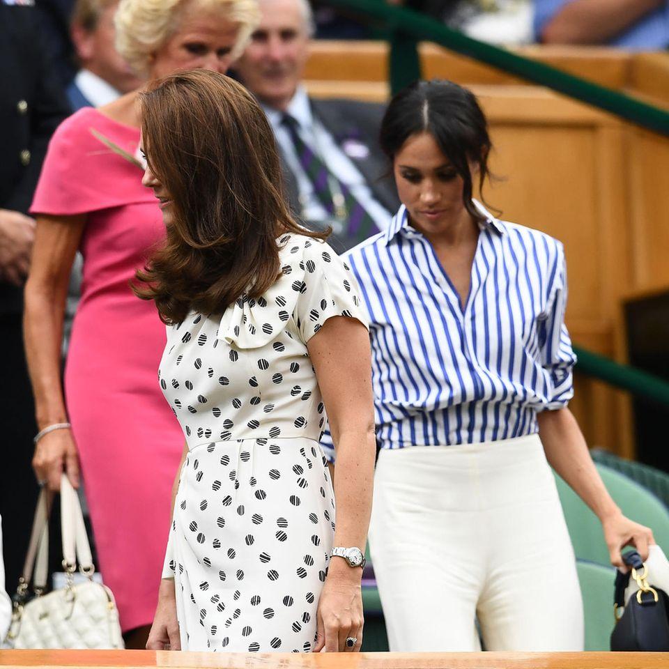Meghan Markle: Kalte Schulter für Kate Middleton
