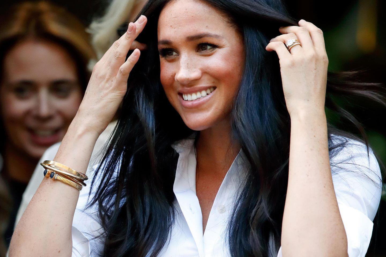 Meghans Hairstylist verrät: Mit diesen 4 Tricks bekommt jeder eine Traummähne