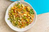Sauerkraut-Fenchel-Salat mit Ananas