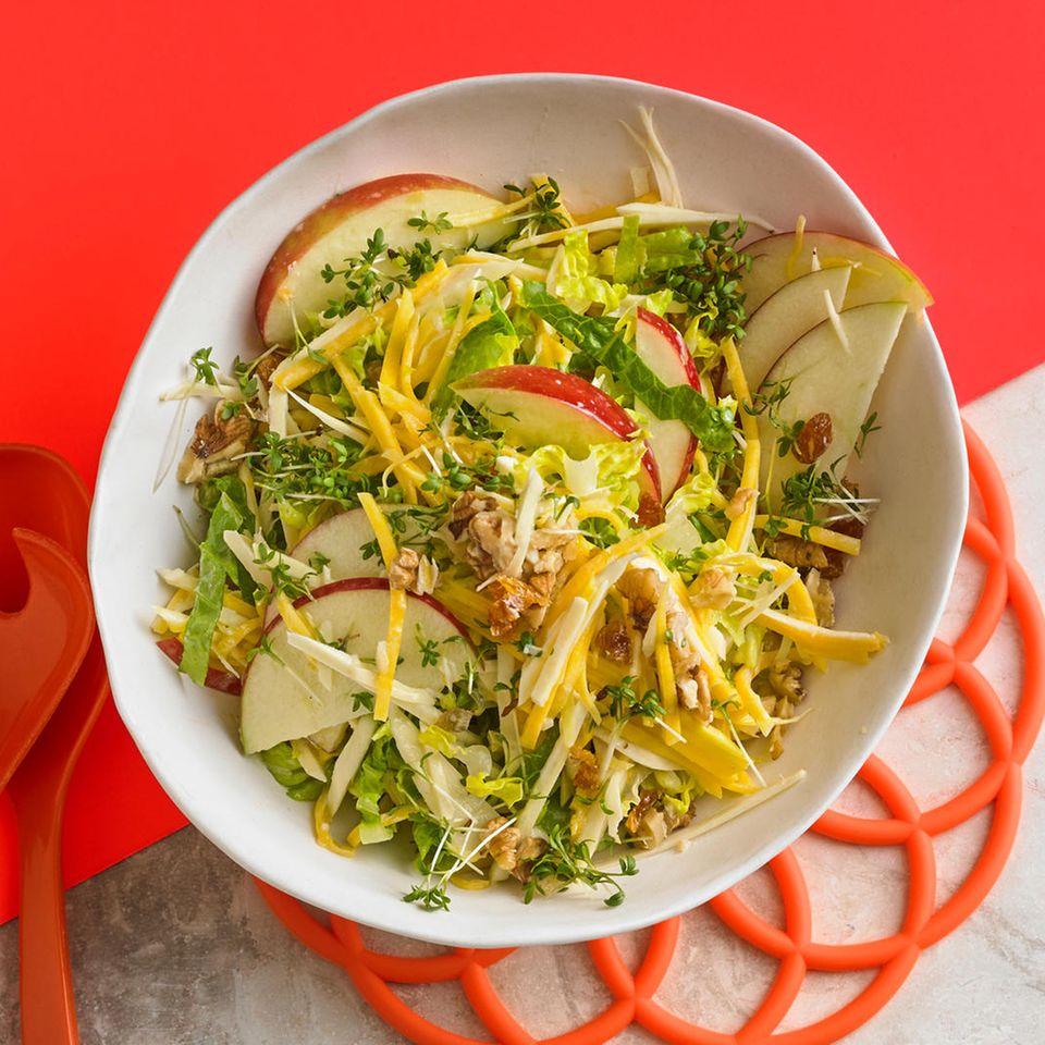 Pastinaken-Kürbis-Salat mit Kefir