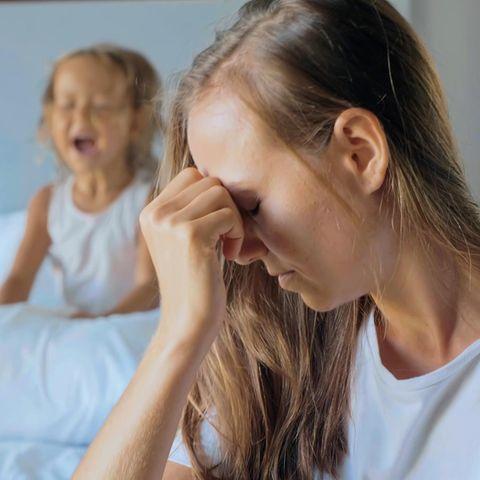 Mein Kind nervt: Genervte Mutter