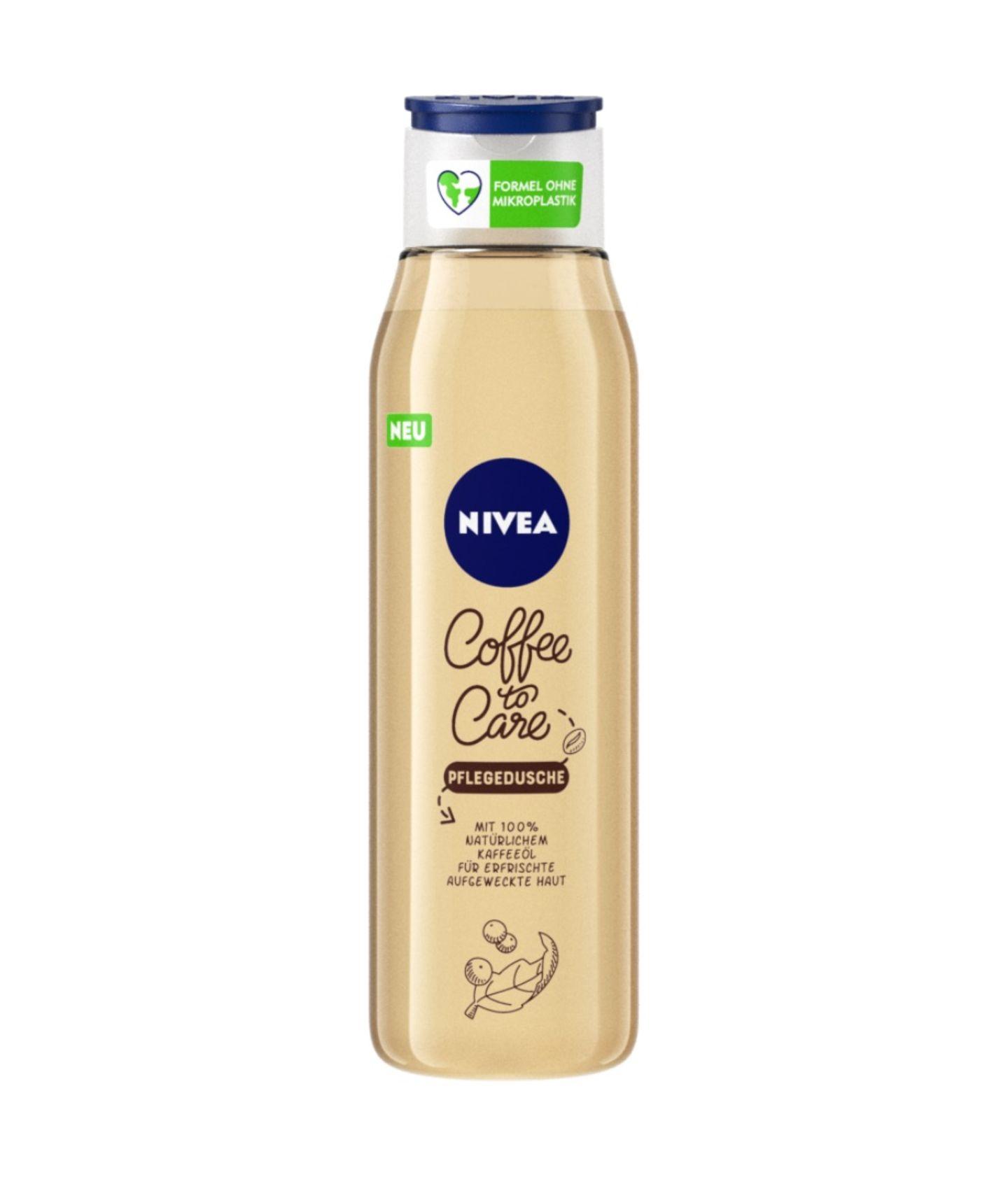 Ein Kaffee am Morgen vertreibt Kummer und Sorgen. Kein Wunder also,dass die neue NIVEA Coffee to Care-Pflegeserie direkt in unser Bad einzieht. Mit 100% natürlichem Kaffee-Öl aus recyceltem Kaffeesatz und 98% Inhaltsstoffen natürlichen Ursprungs bietet sie den perfekten Start in den Tag. Pflegedusche um 5 Euro.