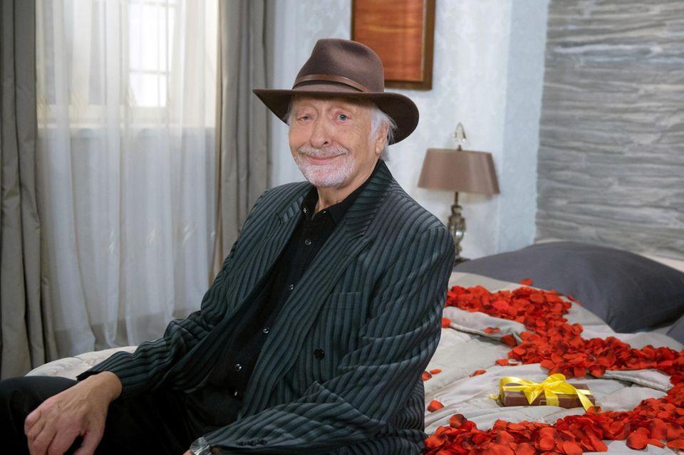 "Karl Dall (†79)bei ""Rote Rosen"""