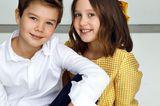 Royale Kinderfotos: Prinz Vincent und Prinzessin Josephine von Dänemark