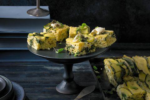Ricotta-Zucchini-Ecken