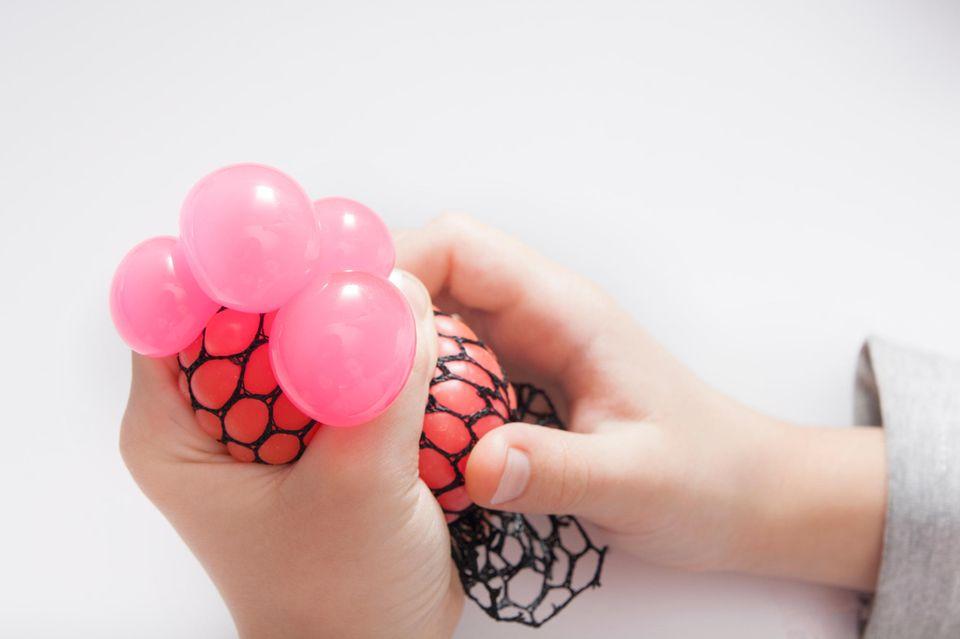 Stressball mit Netz
