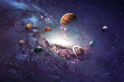 Sternzeichen-Planeten: Planeten im Sonnensystem