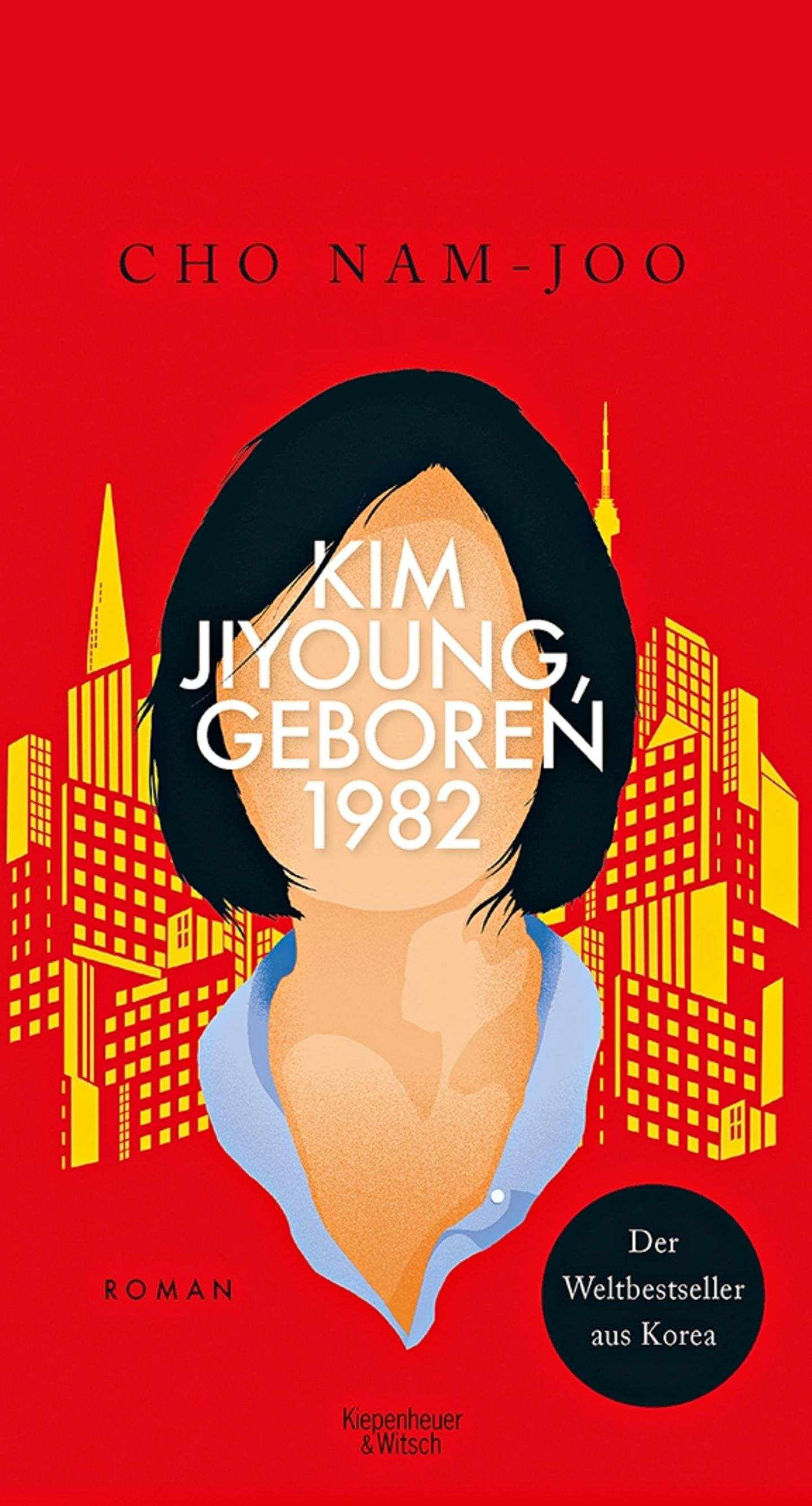 """Buchtipps der Redaktion: Buchcover """"Kim Jiyoung, geboren 1982"""""""