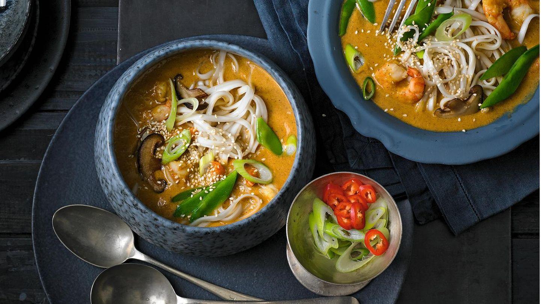 Garnelen-Curry-Eintopf