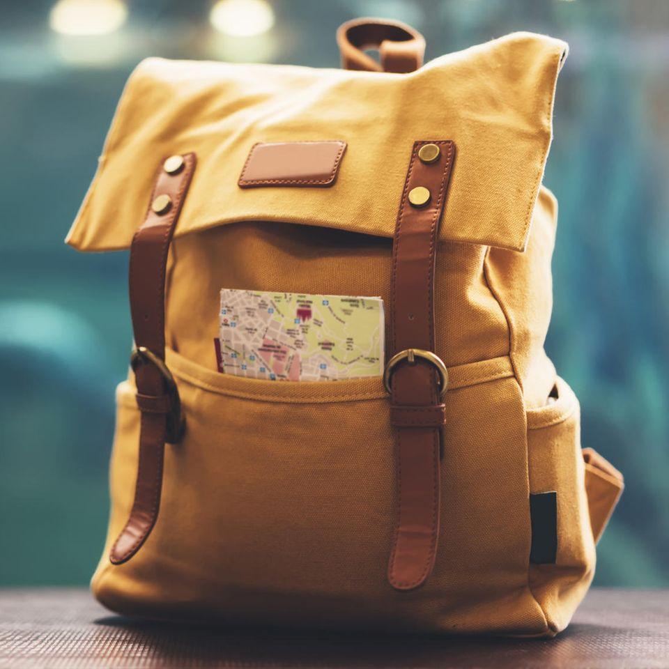 Corona aktuell: Reiserucksack