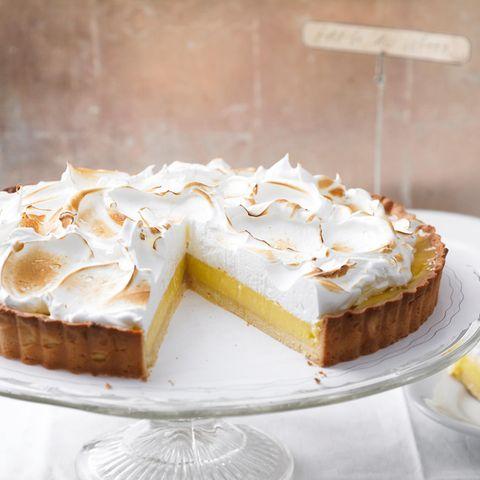 Baiserkuchen: Zitronen-Tarte mit Baiser
