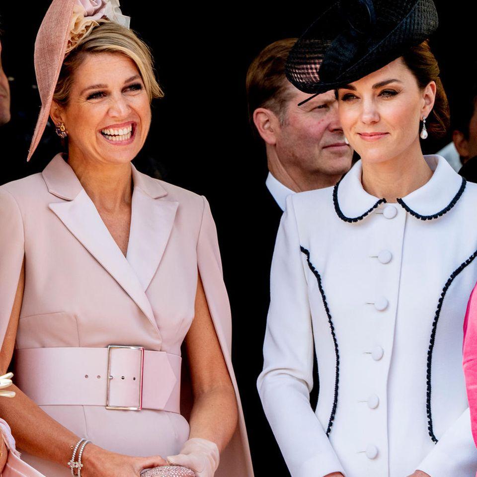 Royaler Kassensturz: So teuer waren 2020 die Looks von Kate, Máxima & Co.