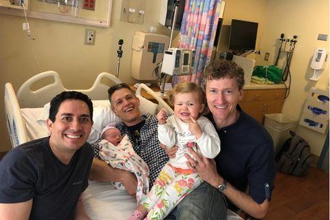 Erstes Kind mit drei Vätern