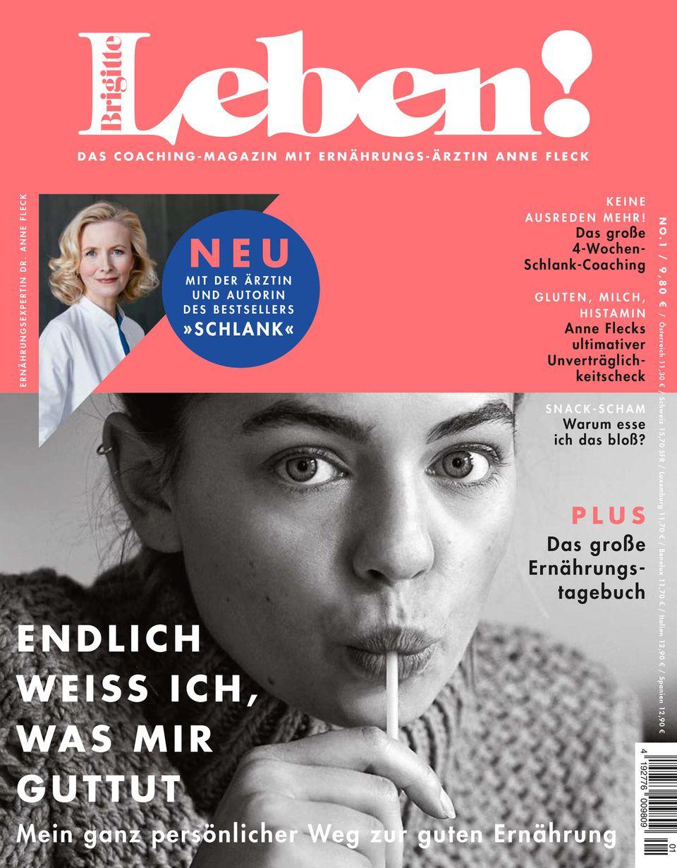 Brigitte Leben!: Cover Brigitte Leben!