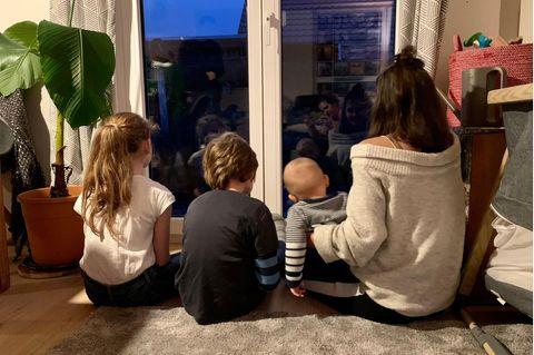 Mit 4 Kindern in Quarantäne