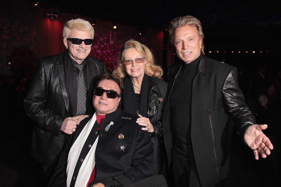 Heino, Roy, Hannelore und Siegfried, 2012